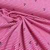 Anker ringel Jersey pink