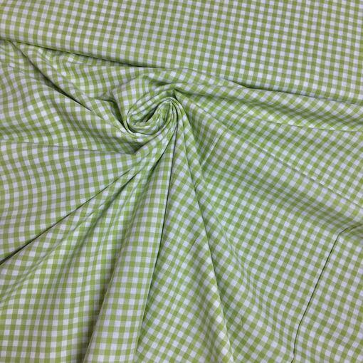 Baumwolle Vichy Karo grün
